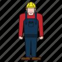 builder, contractor, worker