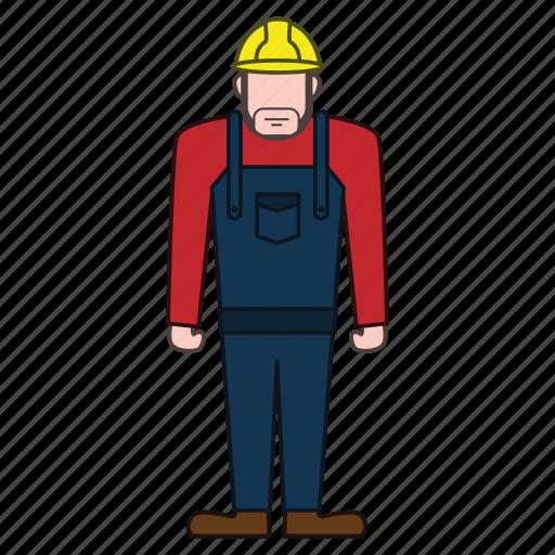 builder, contractor, worker icon
