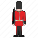 britain, british, guard, london, palace, queen, royal icon