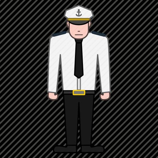 captain, ship icon
