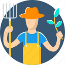 agriculture, farmer, farming, garden, gardening, profession, tree icon