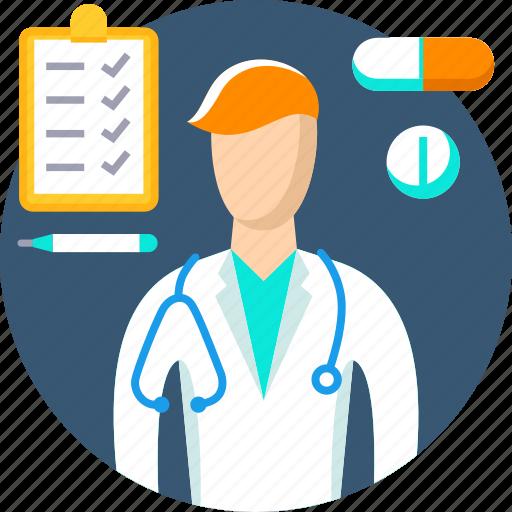 Doctor, healthcare, hospital, medical, medicine, profession, treatment icon - Download on Iconfinder