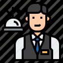 avatar, front desk, job, profession, receptionist, uniform