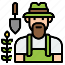 avatar, career, character, gardener, job, occupation, profession icon
