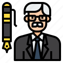 administrator, avatar, boss, business, ceo, director, manager icon
