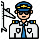 avatar, character, job, man, pilot, uniform
