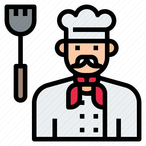 avatar, character, chef, cook, male, uniform icon