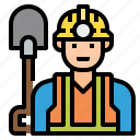 avatar, character, job, labor, man, occupation, worker