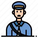 avatar, delivery, mail, post, postman icon