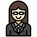 manager, profession, suit, tie, glasses