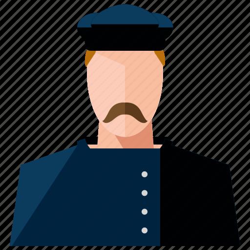 avatar, chef, cook, man, profession, profile, user icon