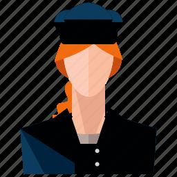 avatar, cook, person, profession, profile, user, woman icon