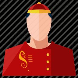 asian, avatar, man, profession, profile, service, user icon