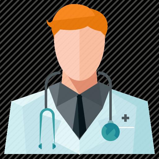 avatar, doctor, man, medical, profession, profile, user icon