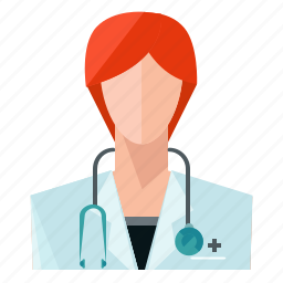 avatar, doctor, medical, profession, profile, user, woman icon