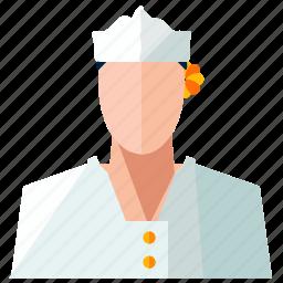 avatar, chef, man, profile, user icon