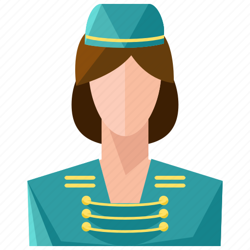 avatar, bellboy, profile, user, woman icon