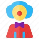 clown, job, occupancy, profession, work, worker icon