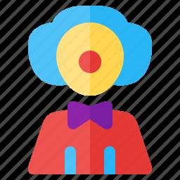 clown, job, occupancy, profession, work, worker icon