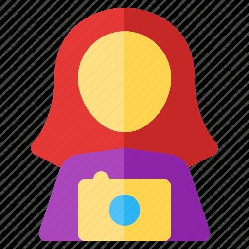 job, occupancy, photographer, profession, work, worker icon