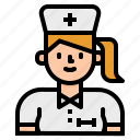 avatar, nurse, people, profile, social, user, woman