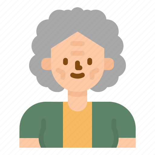 adviser, avatar, grandmother, old, profile, woman icon