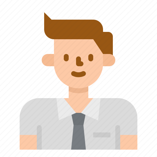 Profile, business, people, user, avatar, man icon