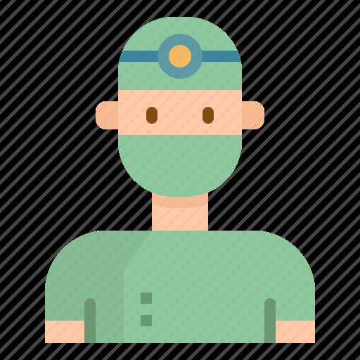 avatar, doctor, job, medical, occupation, people, surgeon icon