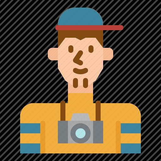avatar, photographer, profile, social, user icon