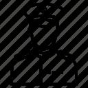 avatar, man, military, police icon