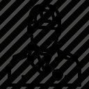 avatar, man, police icon