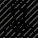 avatar, man, navy, sailor icon
