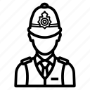 avatar, london, man, police