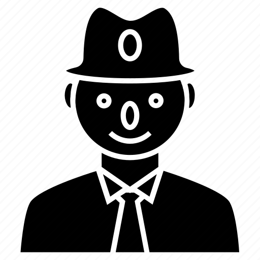 avatar, businessman, client, man, manager, person, profile, user icon icon