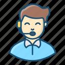 arbiter, arbitrator, conciliator, referee, umpire icon