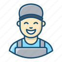 handyman, mechanic, pipefitter, plumber, serviceman