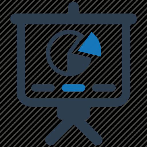 analysis, diagram, internet, marketing, powerpoint, presentation icon