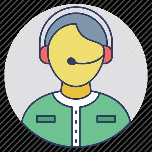 customer service operator, customer service worker, customer support operator, operator, service operator icon