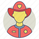 fire department, firefighter, fireman, rescuer, smoke jumper icon