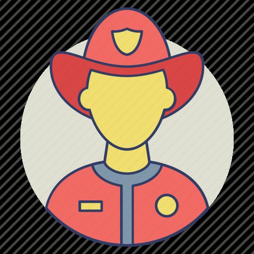 fire department, firefighter, fireman, rescuer, smoke jumper icon