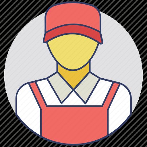 engineer, mechanic, repair service, repairman, technician icon