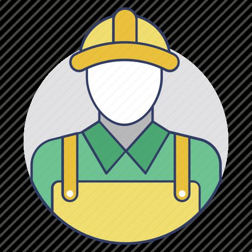 employee, laborer, servant, worker, workman icon