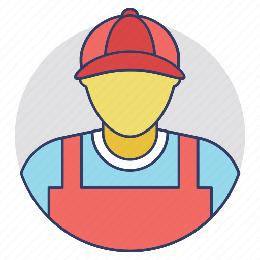craftsman, mechanic, repair service, repairman, technician icon