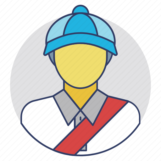 courier, mail carrier, mailman, postal worker, postman icon
