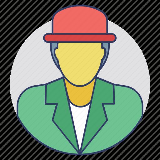 broker, businessman, dealer, merchant, wholesaler icon