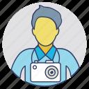 cameraman, cinematographer, lensman, photographer, photoshooter