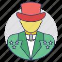 juggler, magician, prestidigitator, sorcerer, wizard icon