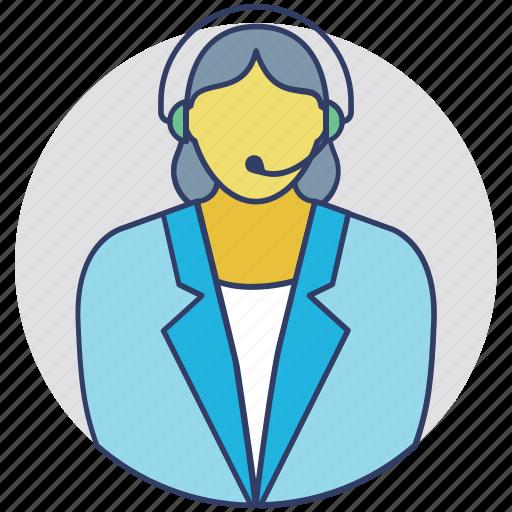 consultant, customer representative, customer service, customer support, help center icon