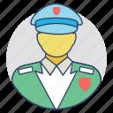 guard, security guard, security man, security officer, watchman