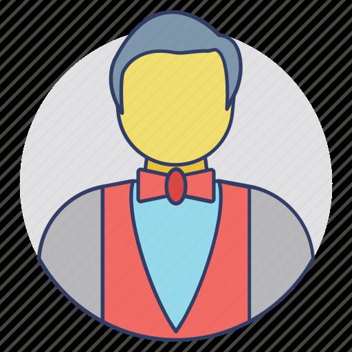 barkeeper, barman, bartender, mixologist, publican icon